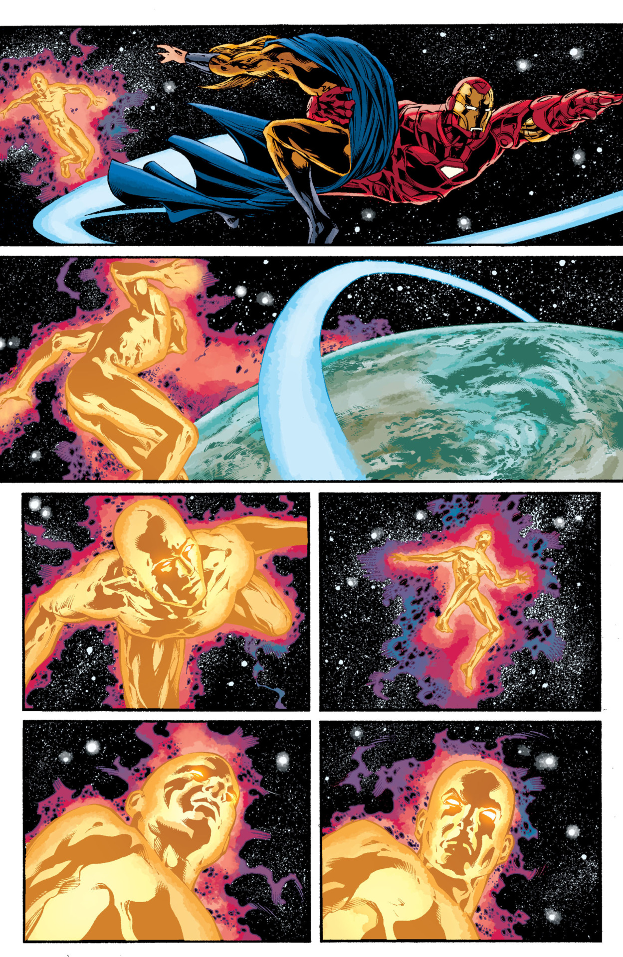 Quickly moves Sentry a considerable distance across the planet(which even left Collector, who had the power of every mutant, a bit baffled)