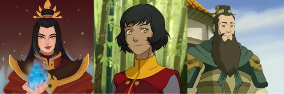 Princess Azula, Opal, General Fong