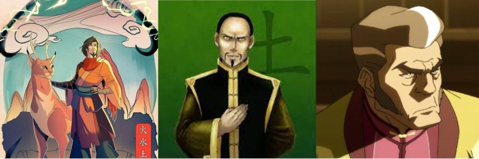 Avatar Wan, Long Feng, Lightning Bolt Zolt