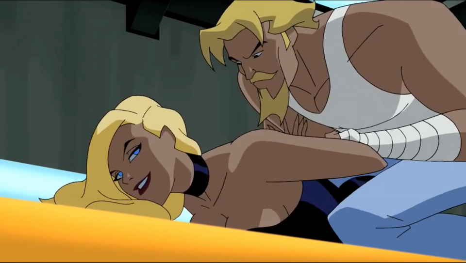 Black Canary tricking Green Arrow into making a bet with her