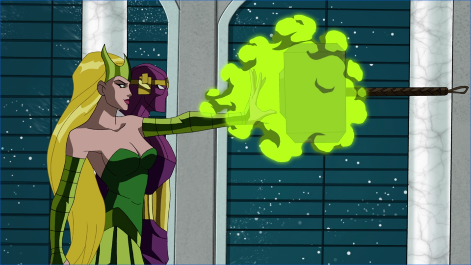 Working with Amora to capture Thor