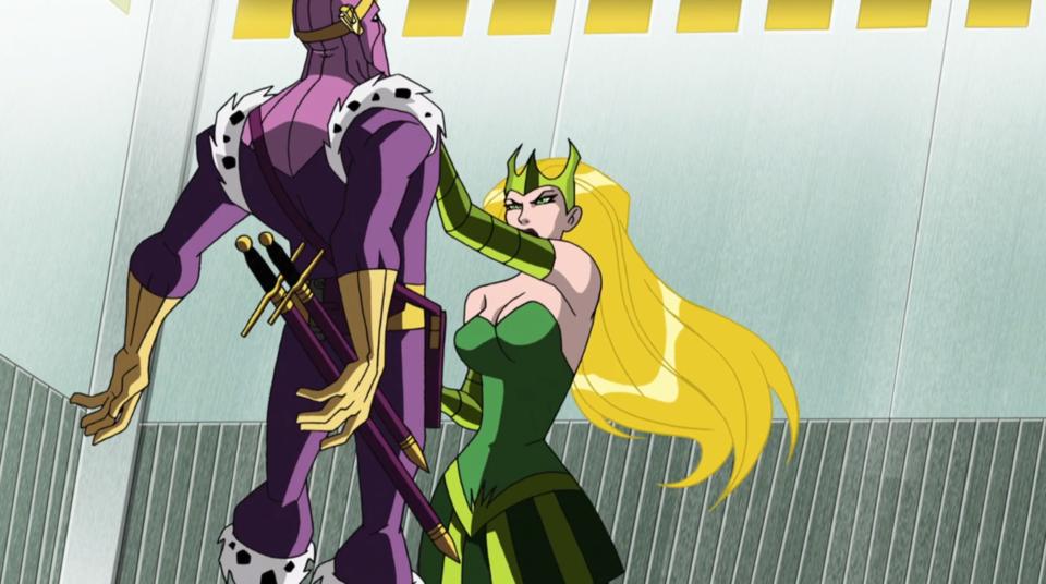 The Enchantress overpowering Zemo
