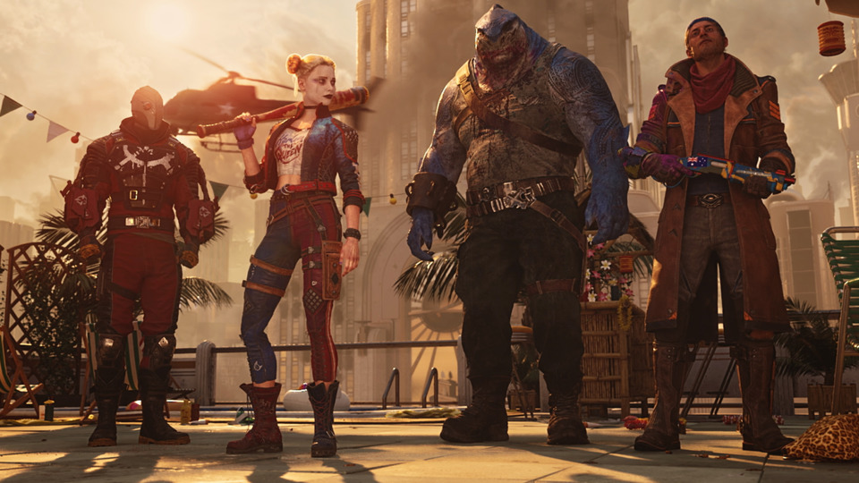 The Suicide Squad video game