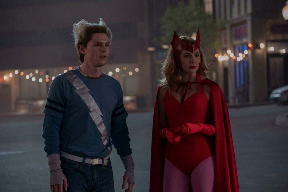 Evan Peters as the impostor Quicksilver
