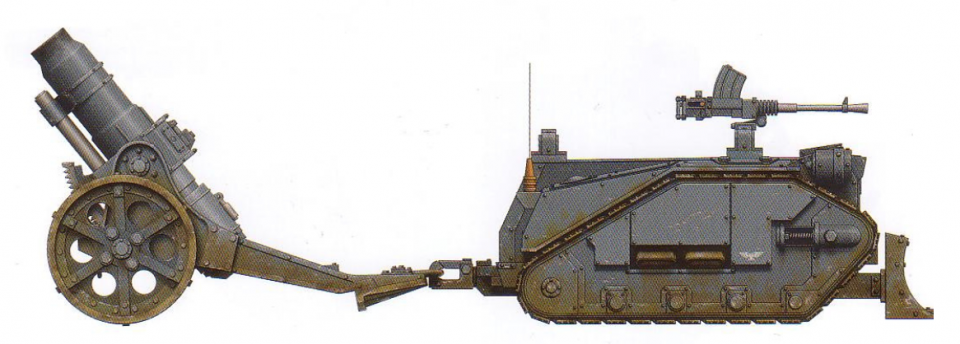 Centaur (used to pull artillery pieces into place along with providing suppressive fire from an interchangeable turret-mounted gun)
