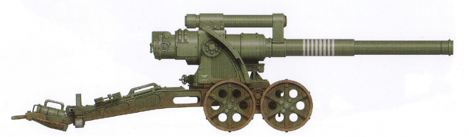 Earthshaker (dedicated ordinance battery) (most common artillery piece in the Imperium)