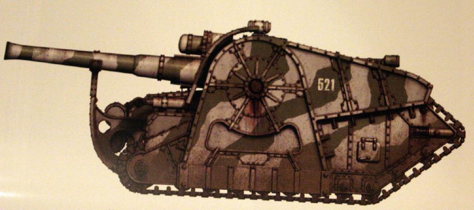 Minotaur (super-heavy artillery piece featuring a twin-linked Earthshaker cannon)