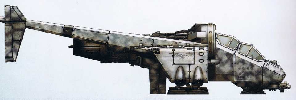 Vulture (lighter version of the Valkyrie with interchangeable weapon loadouts) (note: cannot carry troops)