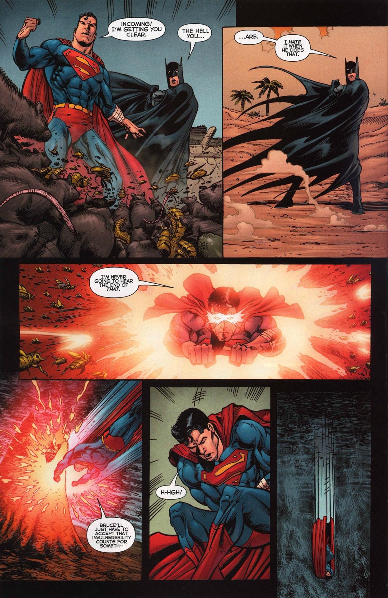 BFRs Batman before he can react