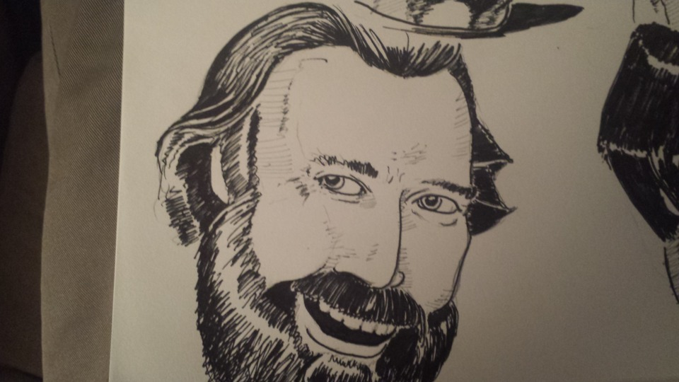 Jim Henson (this one technically ran over the time, so he got rushed a bit)