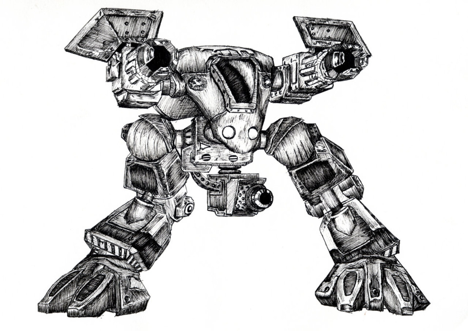Goliaths: Armed with three machine guns and a missile launcher, Golaths are both powerful on the ground and against air.