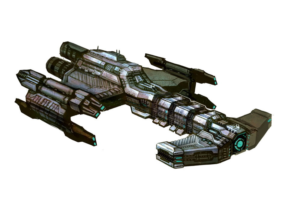 Battlecruiser: The Battlecruiser is a massive Terran warship that can contain entire armies. It is armed with several lazier batteries, Nuclear weapons, and it's powerful Yamoto cannon that can take down an entire enemy capital ship in a single shot.