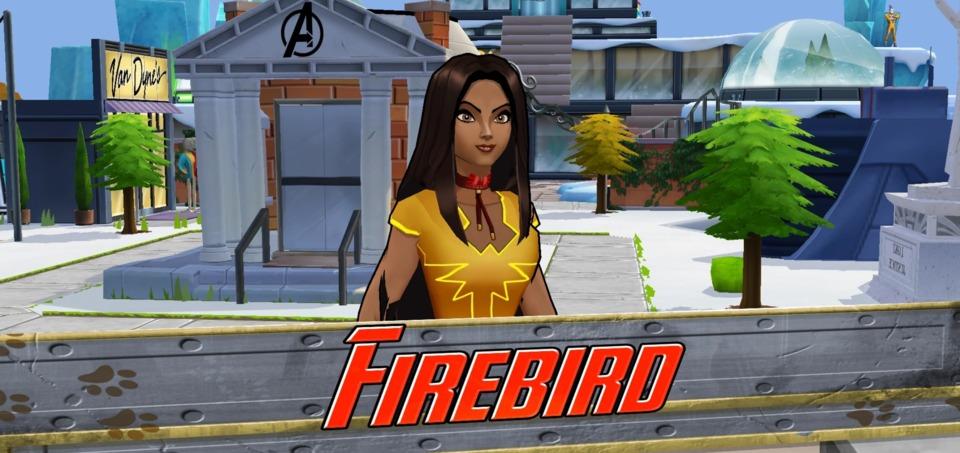Firebird in Marvel Avengers Academy