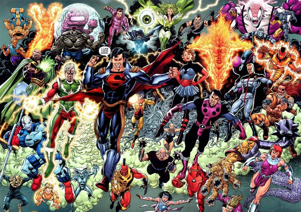 Superman-Prime's Legion of Super-Villains