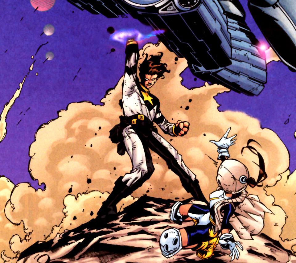 Star Boy vs Robotica