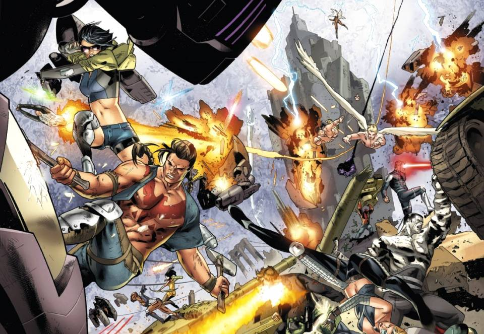 Mighty Fightin' Mutants... But Who Are They All?