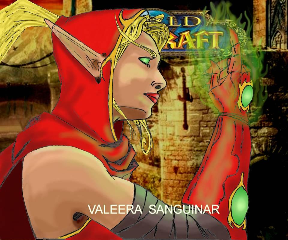 Valeera Sanguinar from WOW[ Wildstorm vol]