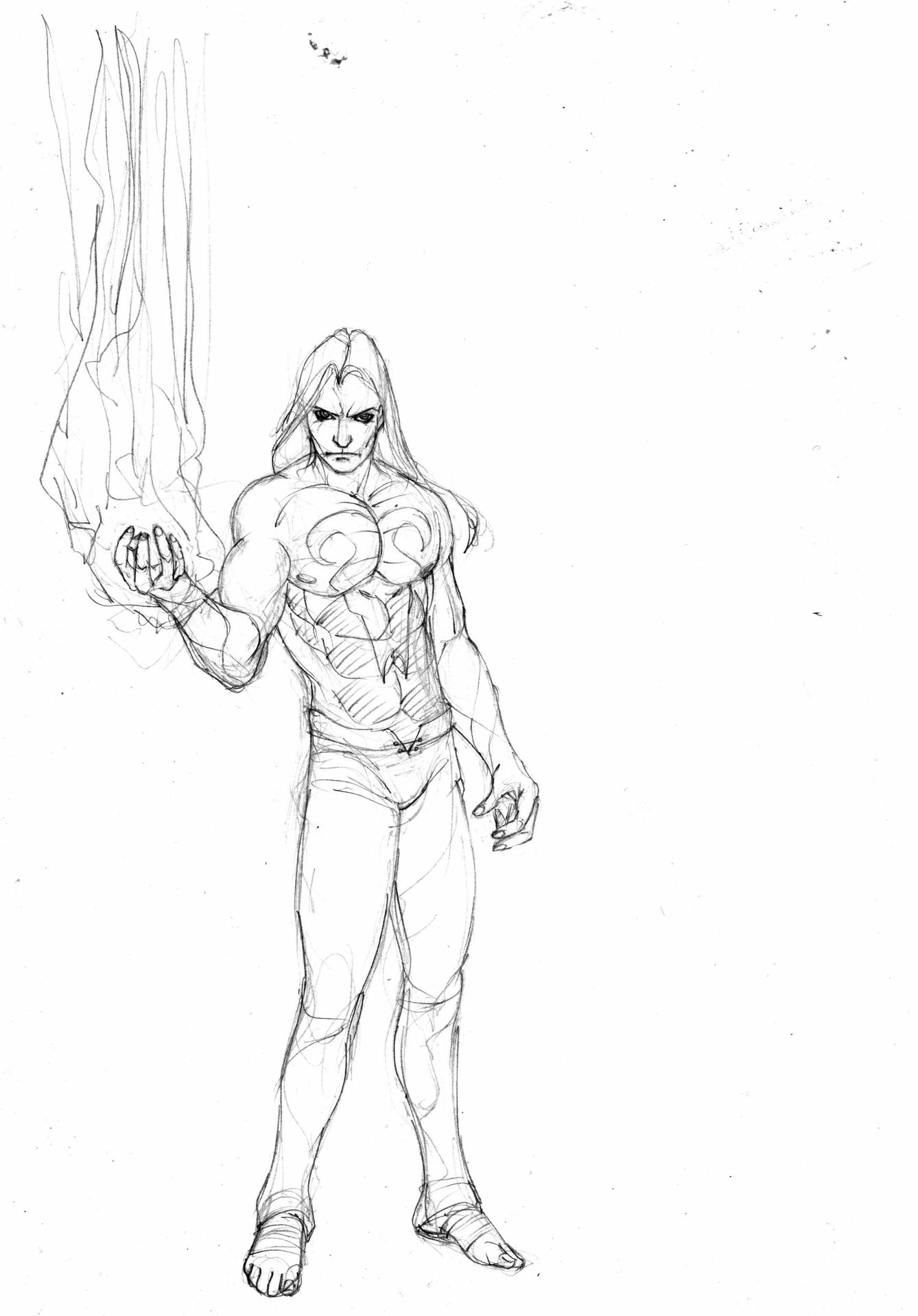 evil iron fist by selkirk