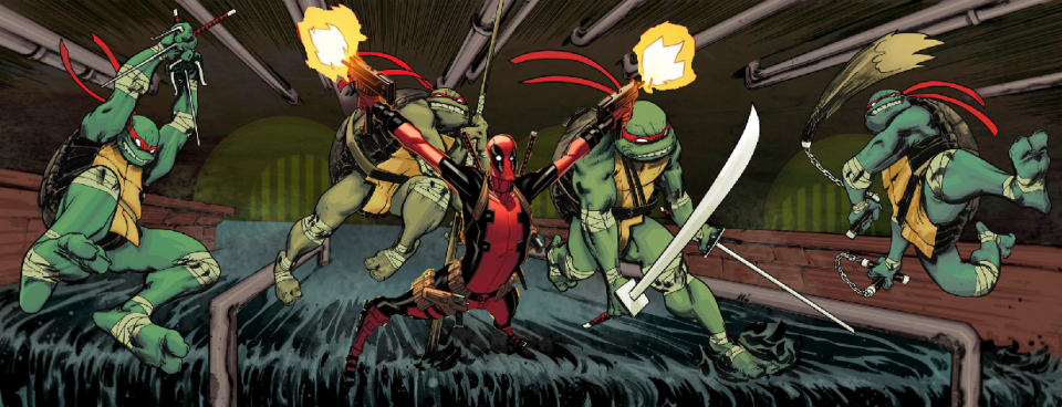 This is the best team-up since Vanilla Ice appeared in 'TMNT II: The Secret of the Ooze.'