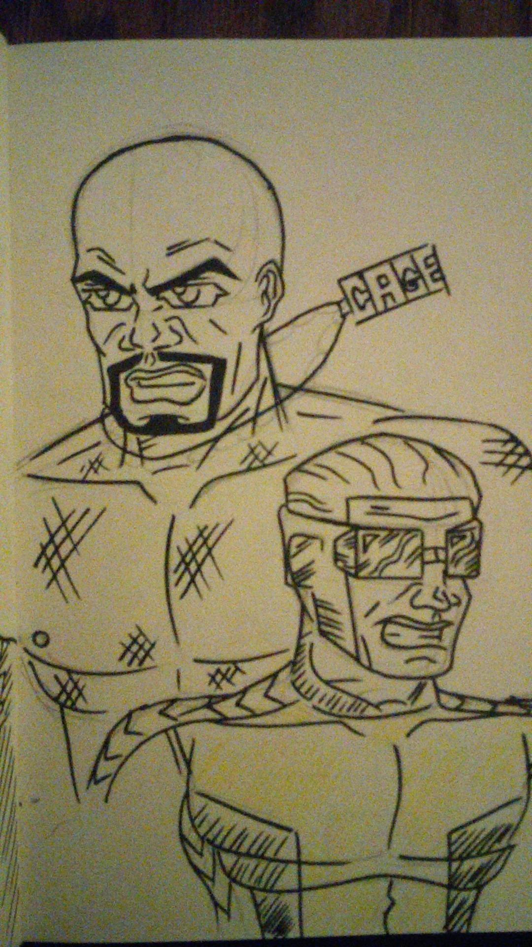 Luke Cage (PowerMan) & Victor Alvarez(PowerMan)
