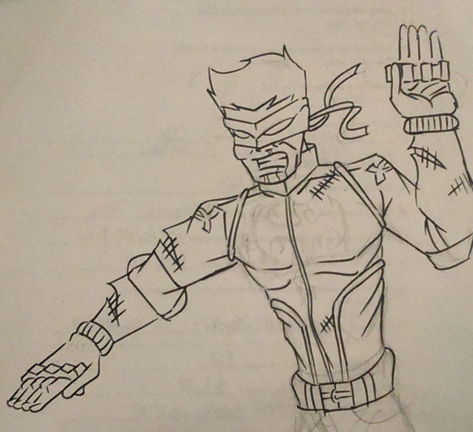 Iron Fist - (The College Years)                                                                                                                                                                                                                      I liked the idea of him still learning the Chi powers ,so he uses brass knuckles.