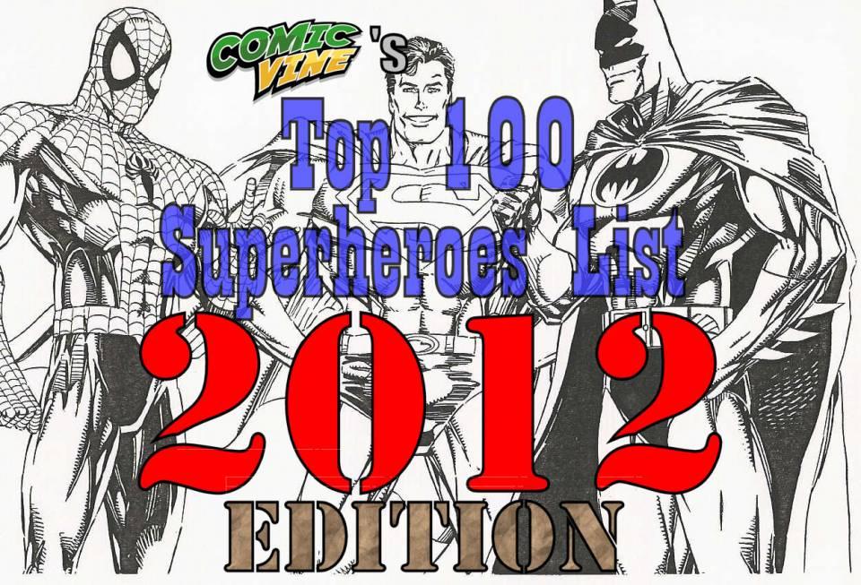 What's that in sky? It's a bird! It's a plane! No! it's the 2012 version of Comic Vine's Top 100 Superheroes!