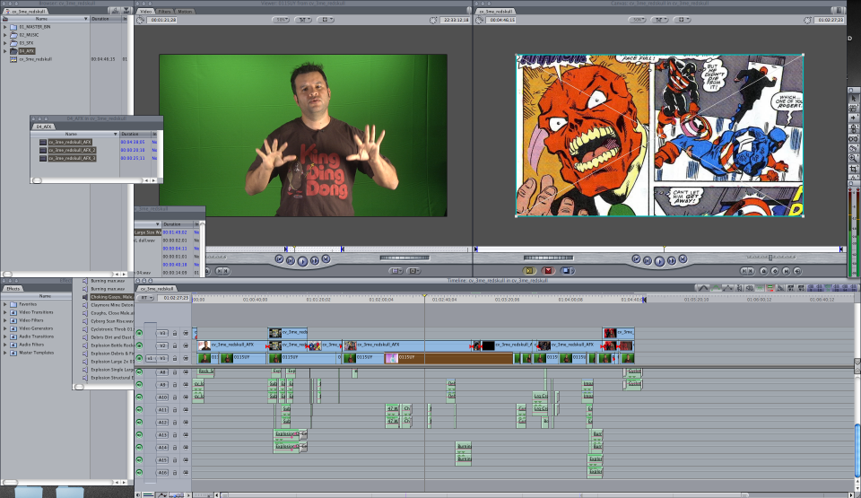 Taking the sequence back into Final Cut