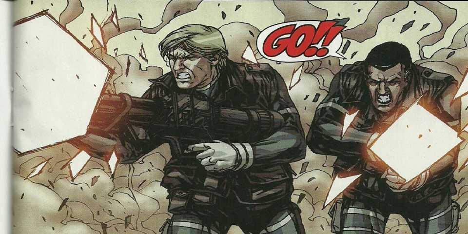 The Commandos' last stand
