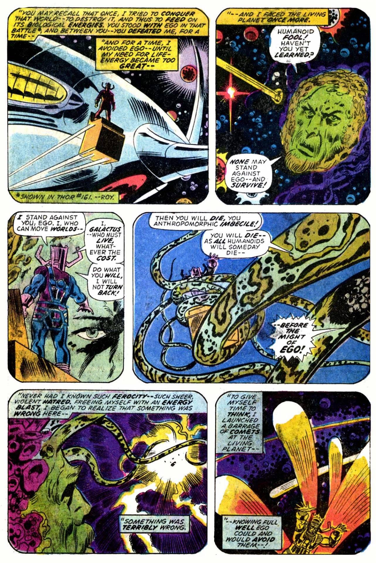 Galactus vs. Ego