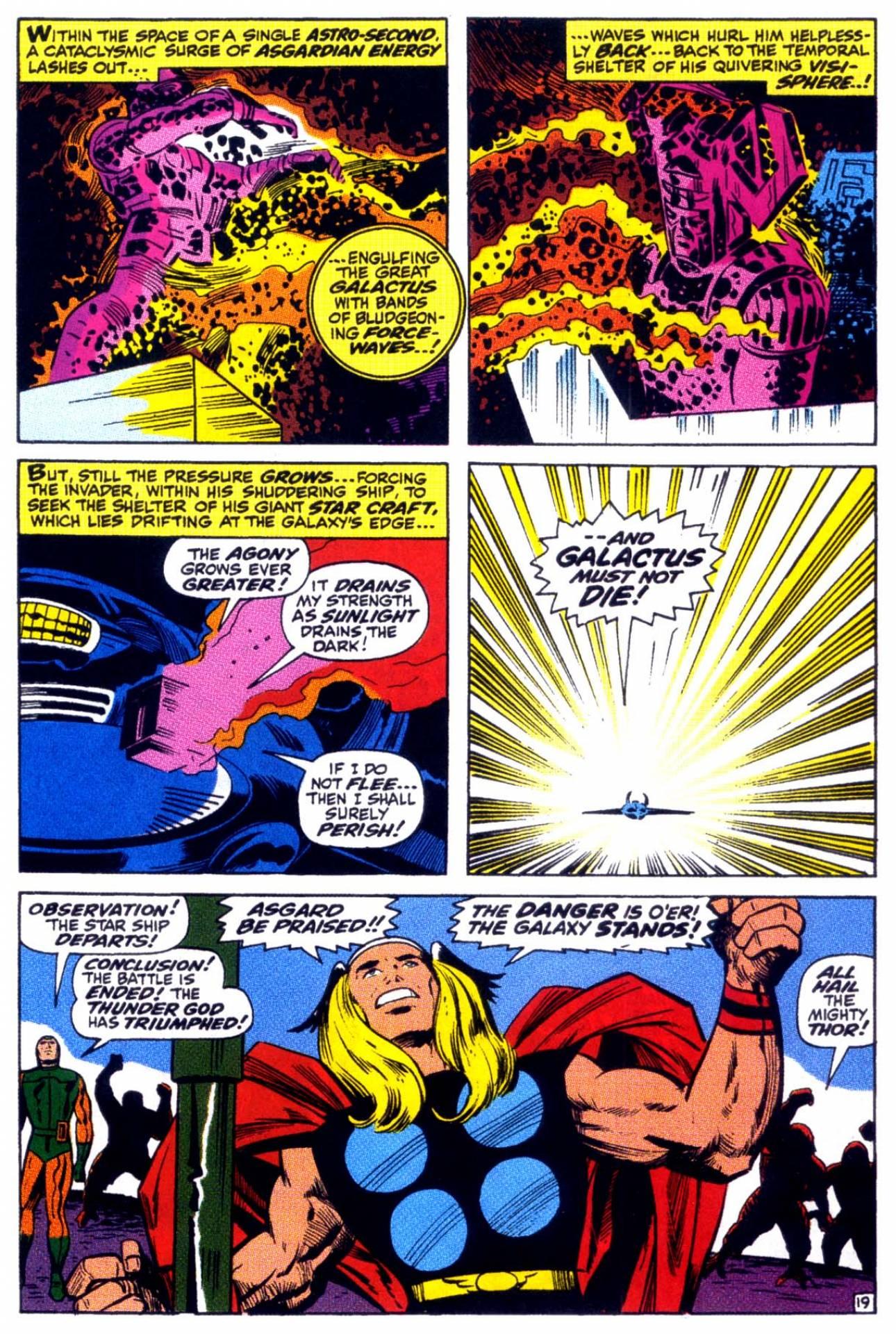 Galactus vs. Thor
