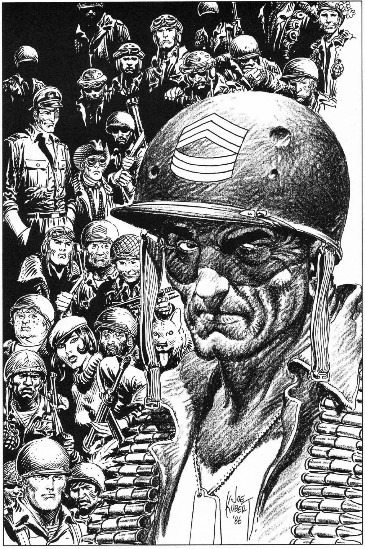 Sgt. Rock & Company by Joe Kubert