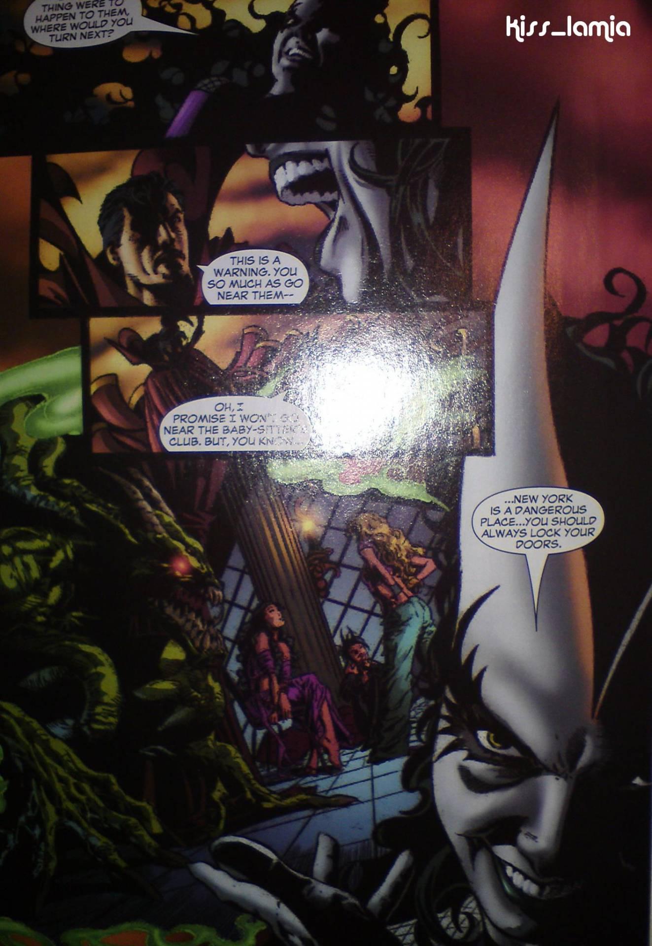 Lilith Talking to Strange