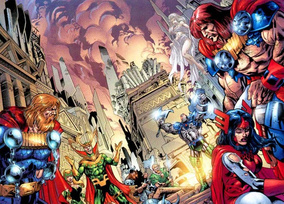 Magni, Thor and Loki face Desak