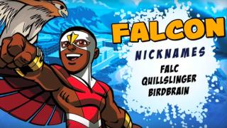Super Hero Squad - Falcon Profile