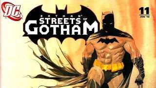 Unscripted: Batman: Streets Of Gotham #11