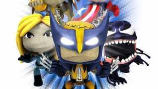 Marvel Little Big Planet: Cap, Wolvie, Rogue, Sue Storm & Venom