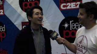C2E2 2012: Steven Yeun from 'The Walking Dead'