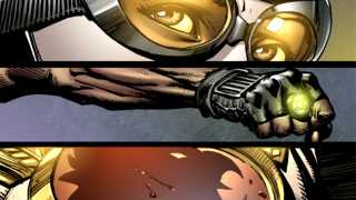Page from Geoff Johns & David Finch's JUSTICE LEAGUE OF AMERICA Revealed