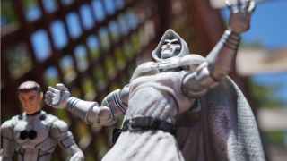 Awesome Toy Picks: Marvel Universe - FF Spider-Man and Doctor Doom