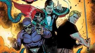 Interview: Jeff Parker and Marc Laming Unite Phantom, Mandrake and Flash Gordon in KINGS WATCH