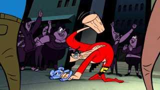 DC Nation: Plastic Man in Pajamas Clip