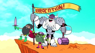"""Teen Titans Go! - """"Caged Tiger"""" Clip and Images"""