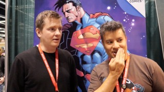 ECCC 2014: Charles Soule talks SUPERMAN: DOOMED, SWAMP THING, and Mustaches
