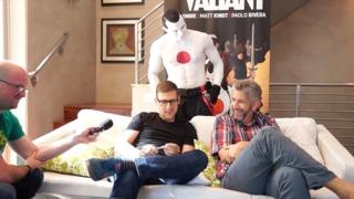 SDCC 2014: Jeff Lemire & Matt Kindt talk THE VALIANT