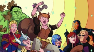 Interview: Ryan North and Erica Henderson talk about THE UNBEATABLE SQUIRREL GIRL