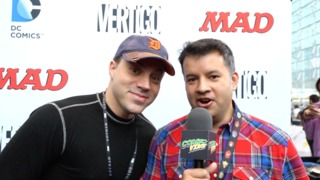 NYCC 2014: Geoff Johns Talks SUPERMAN, JUSTICE LEAGUE, and The Flash TV Show