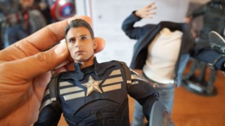 Hands On: Captain America and Steve Rogers Sixth Scale Figures from Hot Toys