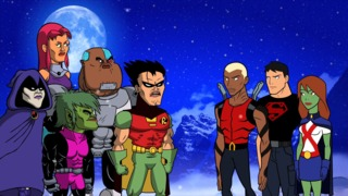 "Teen Titans Go - ""Let's Get Serious"" Clips and Images -- Teen Titans Go vs Young Justice?"