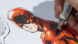 LBCE 2015: Mystery Art Challenge SuperCut - Daredevil and a...?