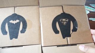 Hands On: DC Comics Painted Wooden Figure - Batman and Superman